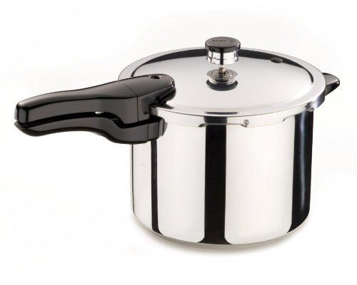Presto 6-Quart Stainless Steel Pressure Cooker Only $43.99!