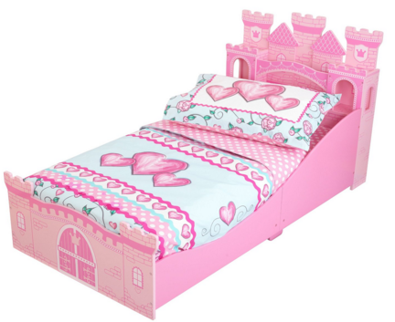 KidKraft Toddler Princess Sweetheart Bedding Just $20 Down From $47!