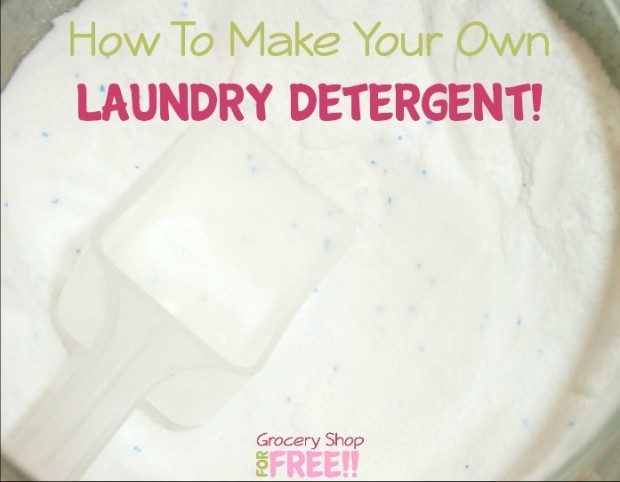 How To Make Your Own Laundry Detergent!