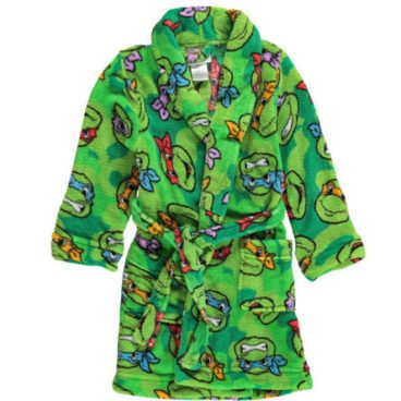 Teenage Mutant Ninja Turtles Boys' Plush Robe Just $18.99! Down From $38!