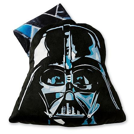 Star Wars Darth Vader Big Face Pillow with Throw Just $12.99 At Sears!