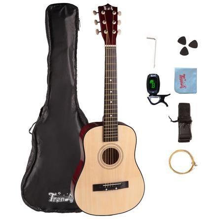 Children Beginner Steel String Acoustic Guitar Package Only $53.95! Down From Up To $105.99!