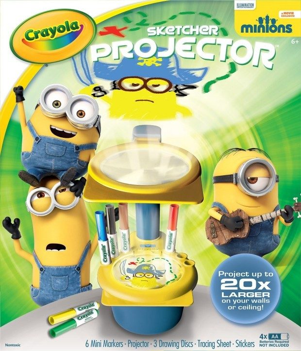 Crayola Minions Sketcher Projector Only $10.17 (Reg $28)