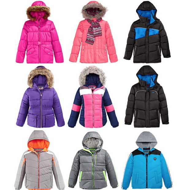 Final Day - Kids Puffer Jackets Just $15.95!  Down From $85!