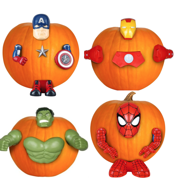 Limited Numbers - Marvel Pumpkin Push-ins!