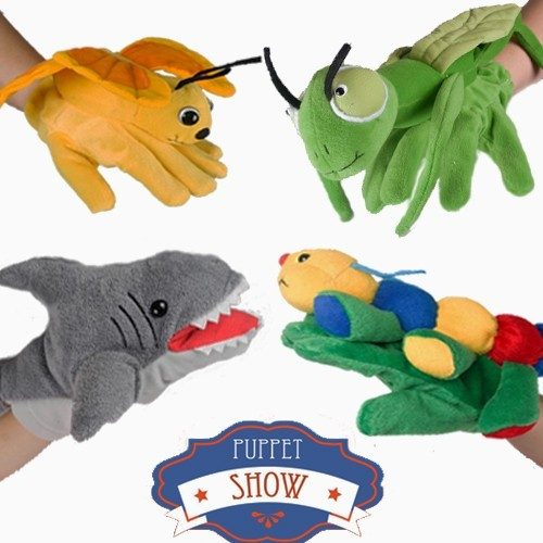 Adorable Animal Hand Puppet Plush Toys by Platte River Trading Just $2.99 At GearXS! Ships FREE!