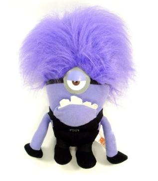 Despicable Me 2 Evil One Eyed Purple Minion Only $7.70! (Reg. $25)