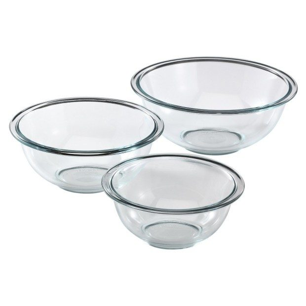Pyrex Prepware Mixing Bowl 3 Pc Set Was $14.69 Now Just $8.89!