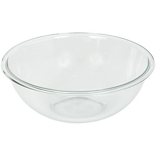 Pyrex Prepware 4-Quart Rimmed Mixing Bowl Only $9.40!  (Reg. $32)