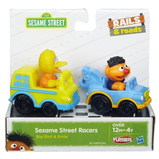 Playskool Sesame Street Racers (Big Bird and Ernie) Just $8.07! (Reg. $12)