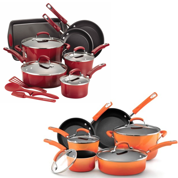 Rachael Ray Nonstick Cookware Sets Only $99!  Down From $290! FREE Shipping!