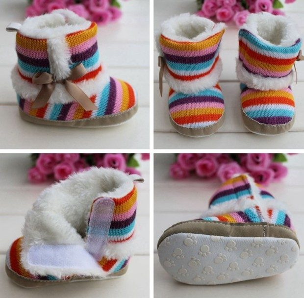Rainbow Baby Boots Only $8.82 Shipped!