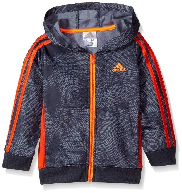 Adidas Boys Hooded Rally Jacket Starting At $10.87! (Reg. $40!)