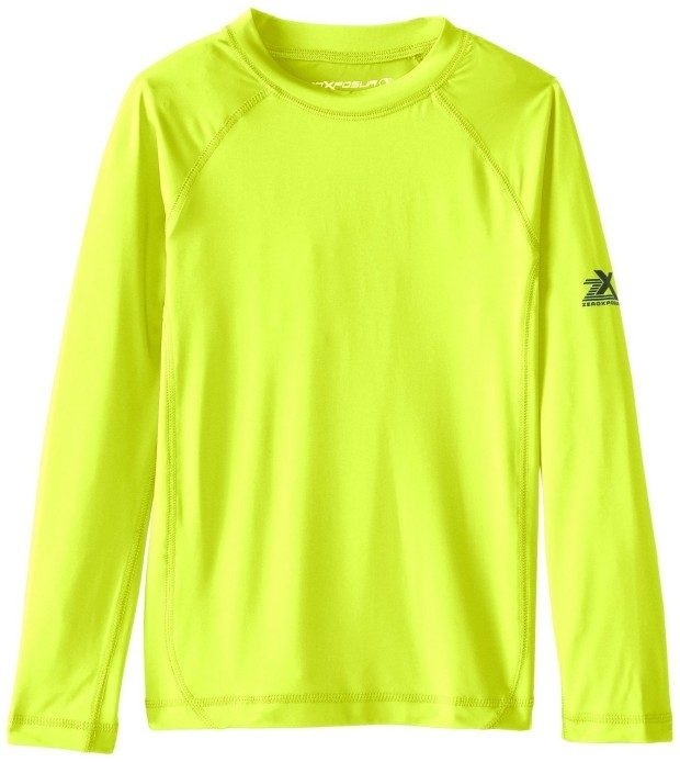 ZeroXposur Big Boys' Long Sleeve Rashguard Shirt As Low As $9.83!
