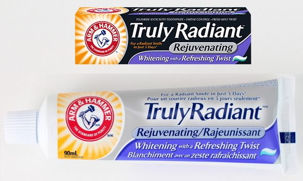 FREE Sample of Arm & Hammer Truly Radiant Rejuvenating Toothpaste!