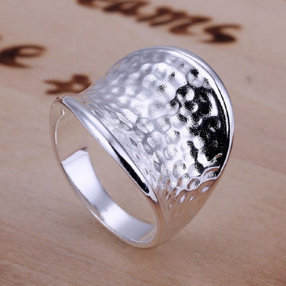 Silver Thumb Ring Size 8 Only $3.23 Plus FREE Shipping!