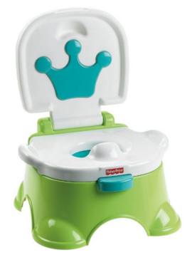Fisher-Price Royal Stepstool Potty, Green Just $20 Down From $32!