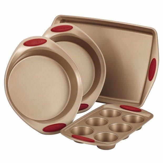 Rachael Ray 4 Pc Cucina Bakeware Set Now Just $29.99! (Reg. $80)