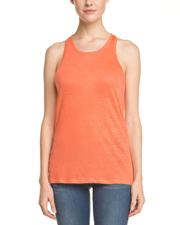 C&C California Persimmon Linen Tank Only $24.99 Plus FREE Shipping!