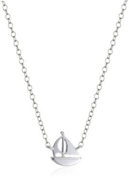 Sterling Mini-Sailboat Pendant Necklace Only $6.87!