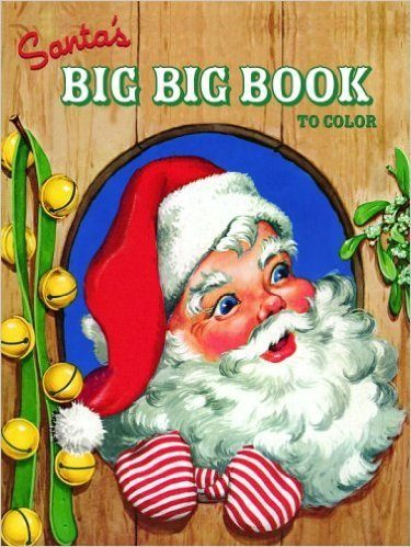 Santa's Big Big Book to Color (Jumbo Coloring Book) Only $3.31!