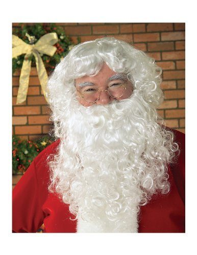 Santa Beard And Wig Set Just $9.74 Down From $17!
