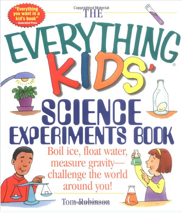 The Everything Kids' Science Experiments Book Only $5.37!