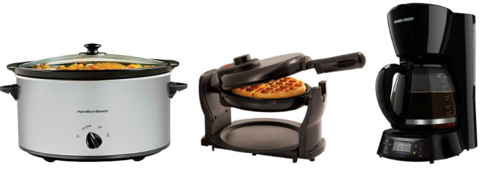 Small Appliances Only $8.99! Down From $39.99!