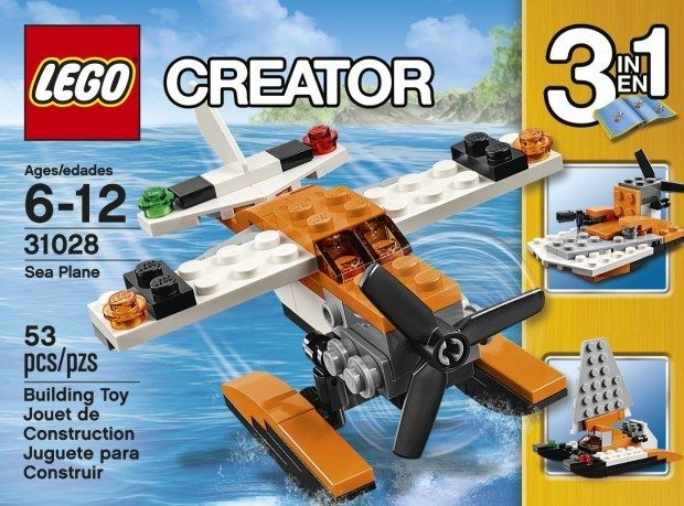 LEGO Creator Sea Plane Only $3.99! (Reg. $7)
