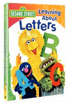 Amazon: Sesame Street Learning About Letters DVD Just $5!