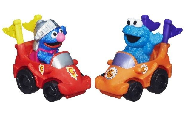 Playskool Sesame Street Racers (Super Grover and Cookie Monster) Just $5.99! Orig. $11.99!