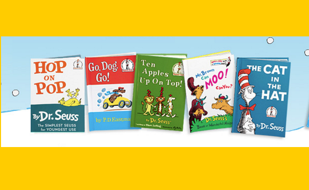 5 Dr. Seuss Books Just $5.95!  Ships FREE!