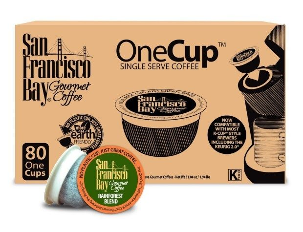 San Francisco Bay OneCup, Organic Rainforest Blend Only $29/80!