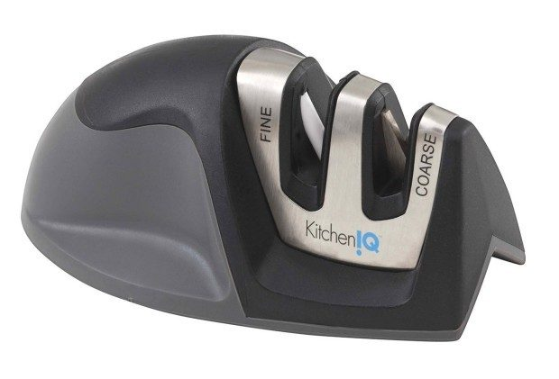 KitchenIQ Edge Grip 2 Stage Knife Sharpener $5.99!