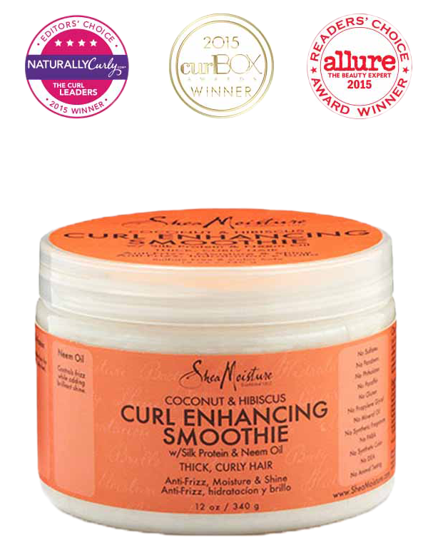FREE SheaMoisture's Coconut & Hibiscus Curl Enhancing Smoothie Sample!