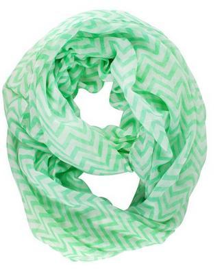 Sheer Chevron Infinity Scarf Just $3.59 + FREE Shipping!