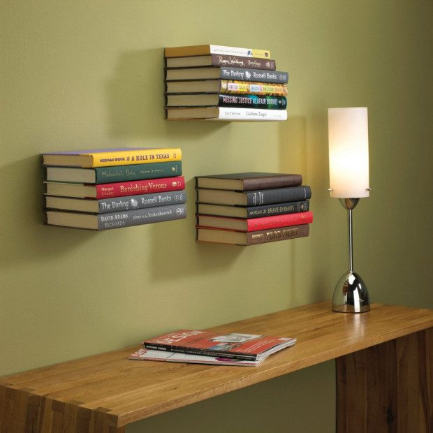 Floating Bookshelf Only $9.99 + FREE Shipping!