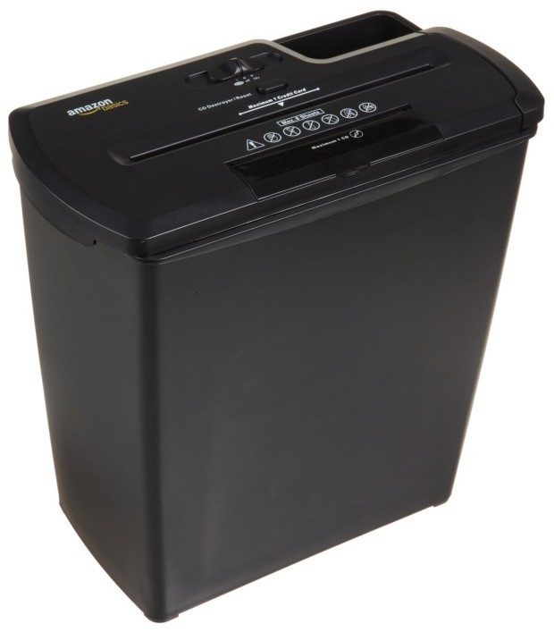 8-Sheet Strip-Cut Paper, CD, and Credit Card Shredder Only $29.99! (25% Off!)