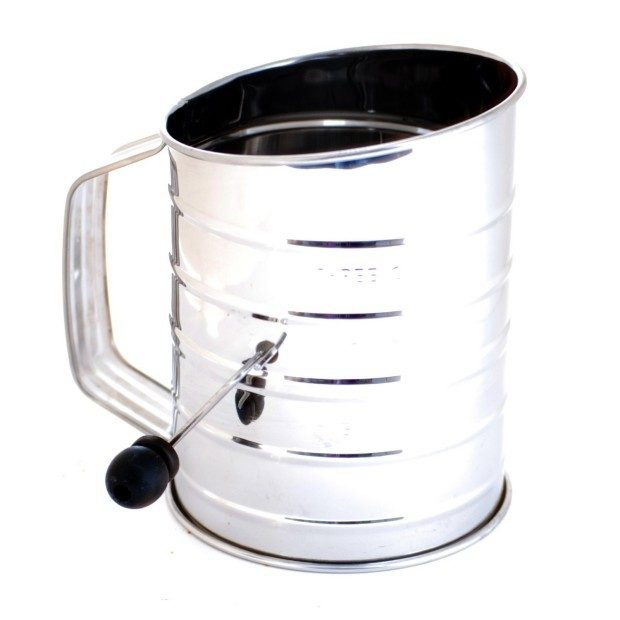 Norpro 3-Cup Stainless Steel Crank Flour Sifter Only $8.58 Plus FREE Shipping!