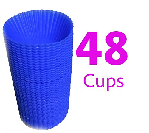 Reusable Silicone Baking Cups 48 Pk Just $8.98!  (Reg. $30!)