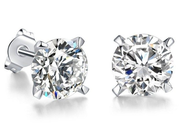 Women's Silver Plated Stud Earrings Just $7.97! Ships FREE!
