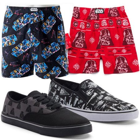 Star Wars Sneaker & Boxers Only $15.86! Down From $74.00!
