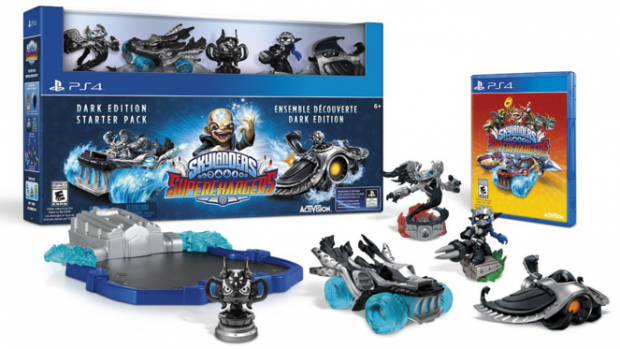 Skylanders SuperChargers Dark Edition Starter Pack - PlayStation 4 Just $48 Down From $100!