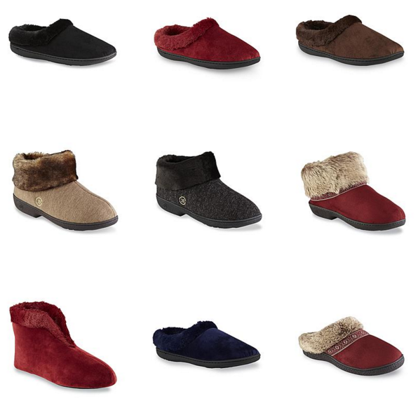 Women's Dearfoams Slippers Starting At $4.99! (Reg. $26)!