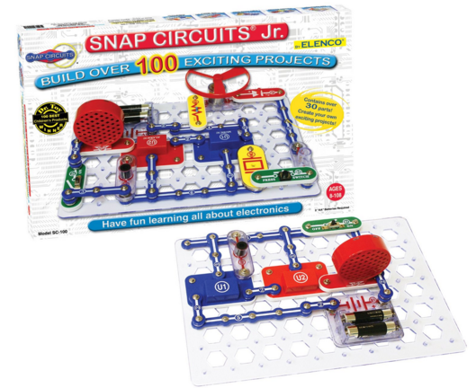Snap Circuits Jr. SC-100 Electronics Discovery Kit Just $20 Down From $33!