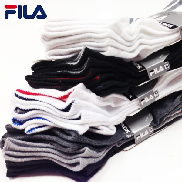 Fila Men's / Women's 12 Pair No Show Socks Only $12.99 Shipped!