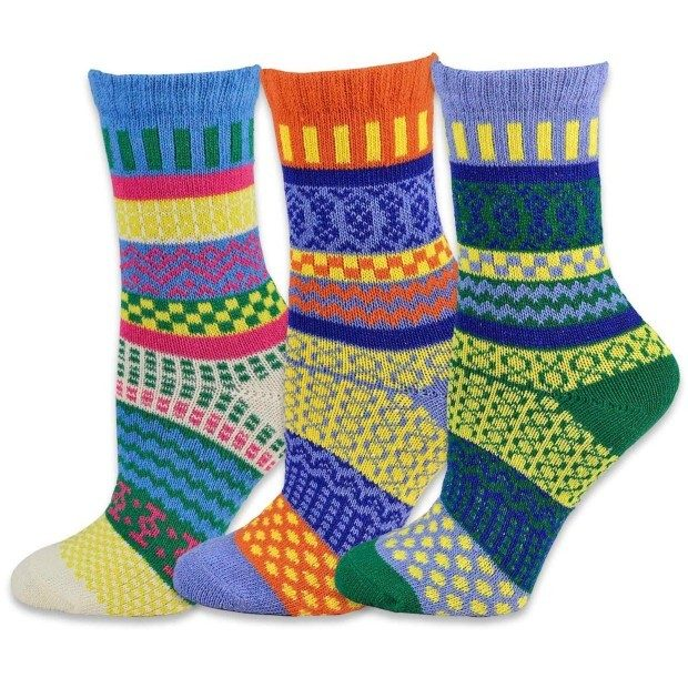 Women's Multi Color Wool Winter Socks 3 Pr Just $10.99! Ships FREE!