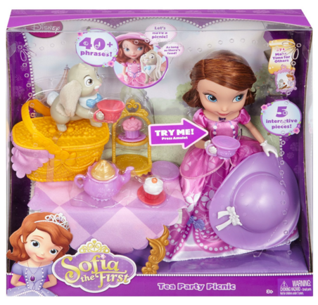Disney Sofia The First Tea Party Picnic Doll Just $12 Down From $46!