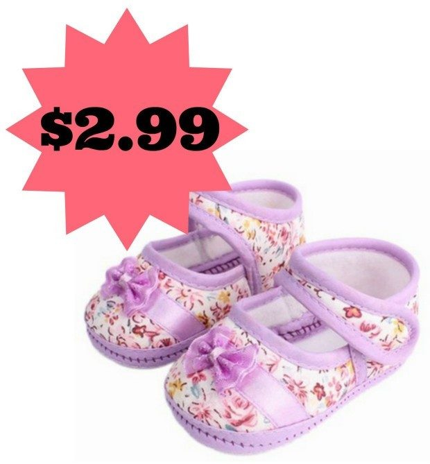 Soft-Soled Baby Shoes Only $2.99 + FREE Shipping!