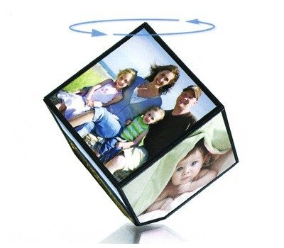 VIBE 360 degrees Spinning Photo Cube Just $6.71 Down From $29.99 At GearXS! Ships FREE!